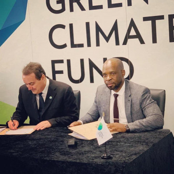 Environmental Investment Fund of Namibia signs a new Climate change agreement with the Green Climate Fund worth N$127 million in Songdo, South Korea