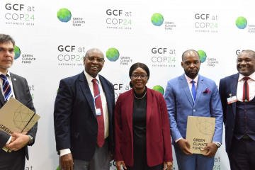 GCF funding agreement with Namibia first under new simplified approach