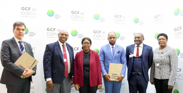 EIF signs N$140 million agreement for Climate Change action in Kunene Region