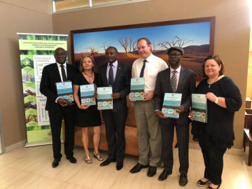 Tourist Statiscal Report Launch held at the Ministers Board room.
