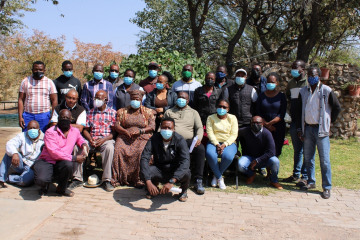 STORY: EIF's IREMA Project conducts Regional Training of Trainers on Disaster Risk Management in Kunene Region