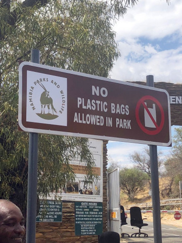 New era for waste management as Plastic carrier bags banned from Protected Areas
