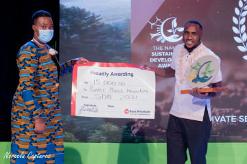 Environmentalists Rewarded at the Sustainable Development Awards