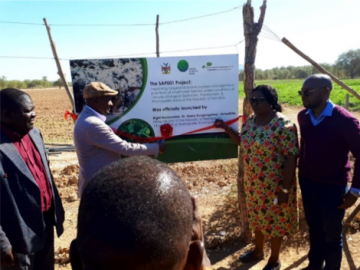 Improving rangeland and ecosystem management practices of small holder farmers under conditions of climate change (Irema) in Sessfointein, Fransfontein and Warmquelle areas inception project workshop held