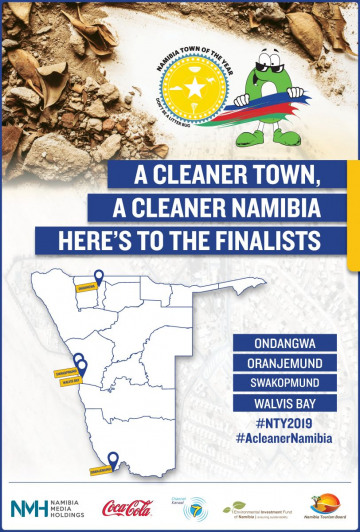 A cleaner town, a cleaner Namibia